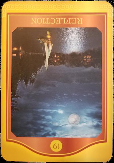 REFLECTION (Reversed) - The Akashic Tarot