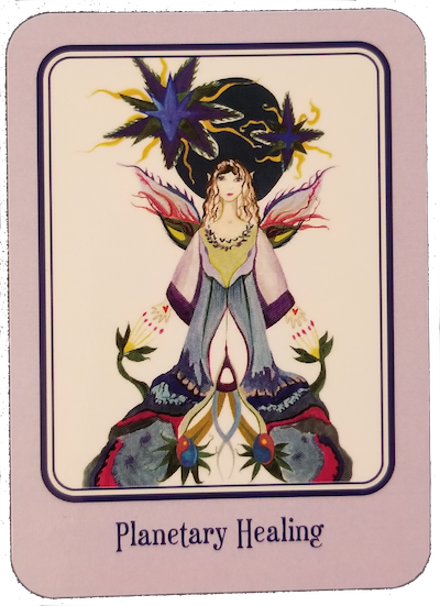 PLANETARY HEALING - Nature Spirits Oracle