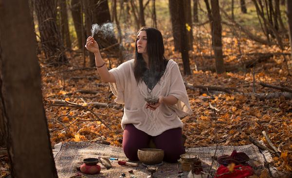 sacred ceremony, sage, palo santo