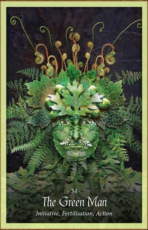 THE GREEN MAN - Faery Forest Oracle