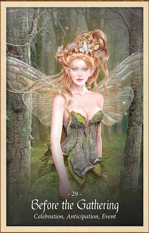 BEFORE THE GATHERING - Faery Forest Oracle