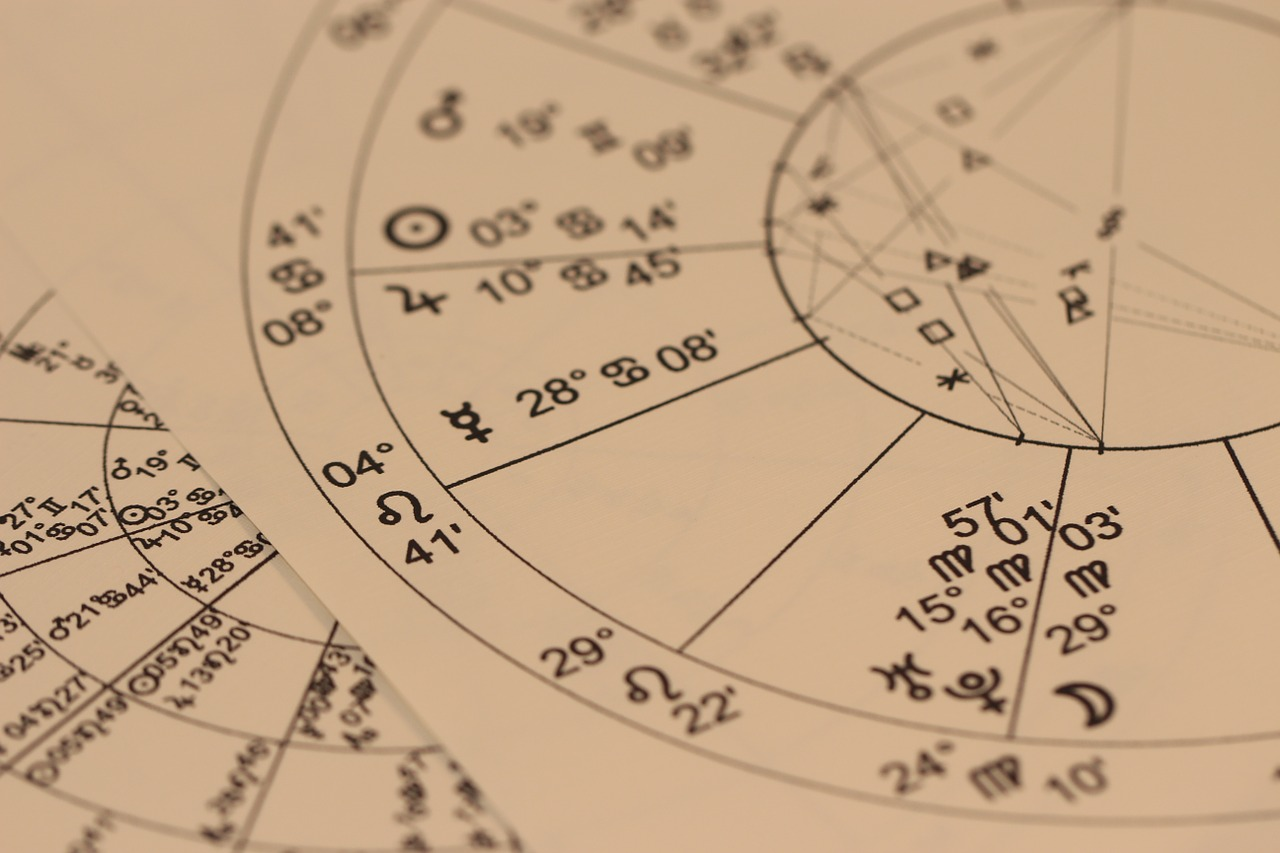 natal chart, birth chart, astrology