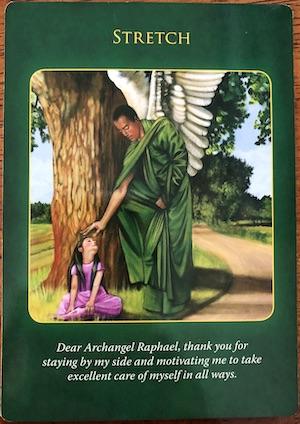 STRETCH- Archangel Raphael Healing Oracle