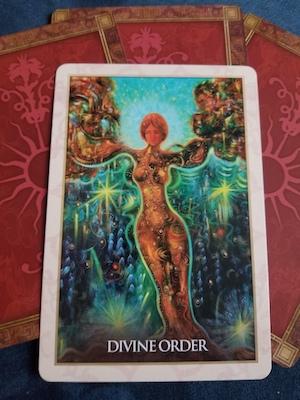DIVINE ORDER - Magdalene Oracle, Toni Carmine Salerno