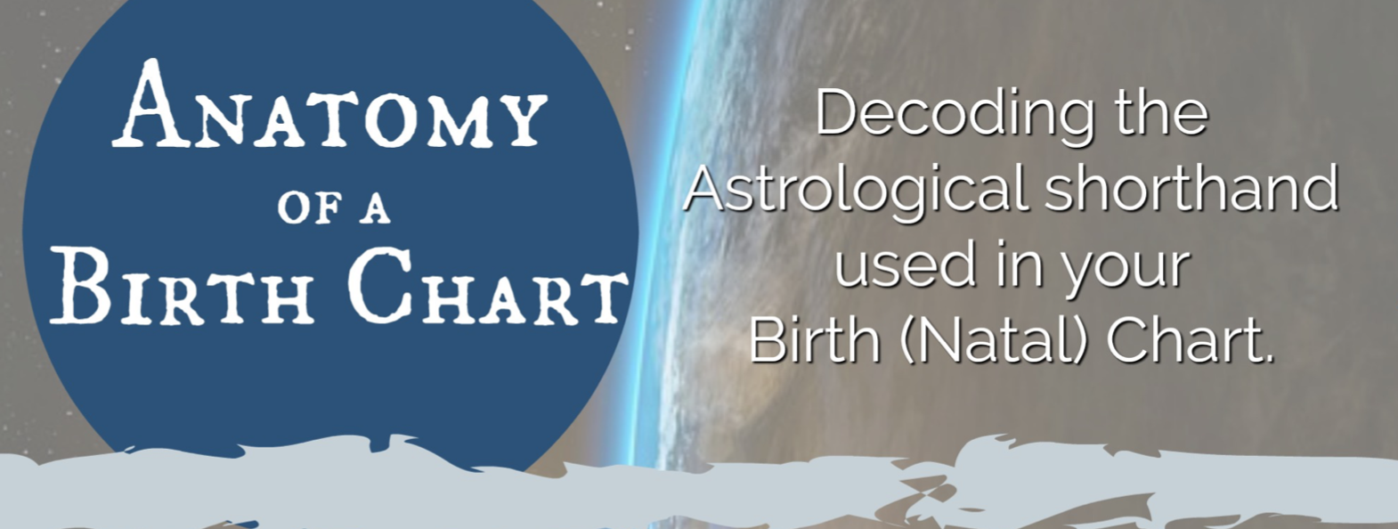 FREE Anatomy of a Birthchart, Astrology, glyphs, Hilary Harley, astrologer, natal chart