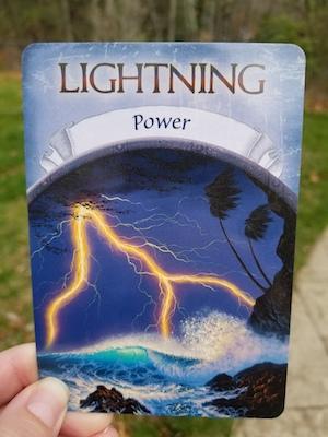 LIGHTNING - Earth Magic Oracle by Steven D. Farmer