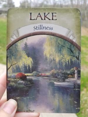 LAKE - Earth Magic Oracle by Steven D. Farmer