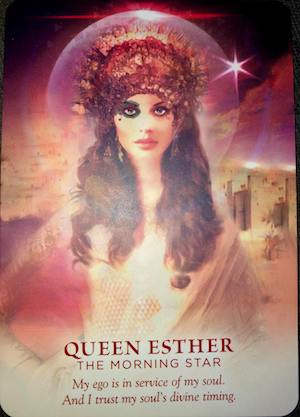 QUEEN ESTHER: The Morning Star - Divine Feminine Oracle, Meggan Watterson