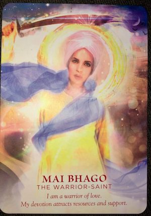 MAI BHAGO: The Warrior-Saint - Divine Feminine Oracle, Meggan Watterson