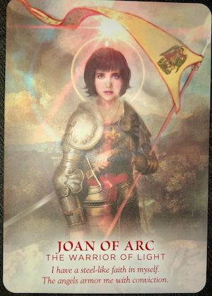 JOAN OF ARC: The Warrior of the Light - Divine Feminine Oracle, Meggan Watterson