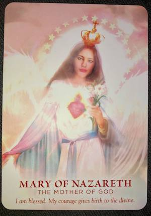 MARY OF NAZARETH: The Mother of God - Divine Feminine Oracle, Meggan Watterson
