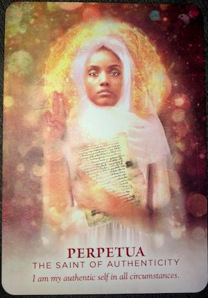 PERPETUA: The Saint of Authenticity - Divine Feminine Oracle, Meggan Watterson