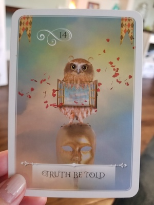 TRUTH BE TOLD - Wisdom of the Oracle by Colette Baron-Reid