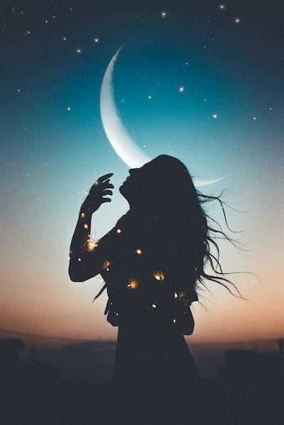 Astrology, natal chart, birth chart, horoscope, moon