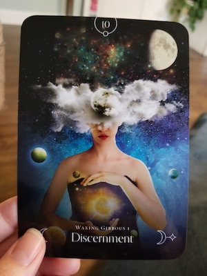 DISCERNMENT: Waxing Gibbous 1 - Queen of the Moon Oracle, Stacey Demarco