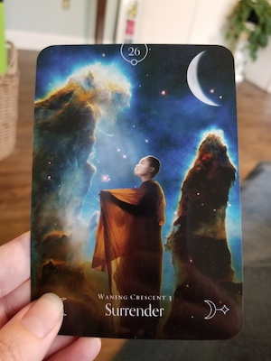 SURRENDER: Waning Crescent 3 - Queen of the Moon Oracle, Stacey Demarco