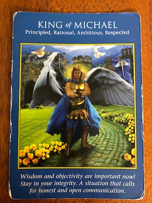 KING OF MICHAEL: Archangel Power Tarot by Raleigh Valentine