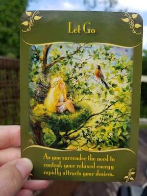 LET GO: Magical Messages from the Fairies Oracle, Doreen Virtue