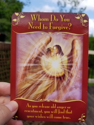 WHOM DO YOU NEED TO FORGIVE: Magical Messages from the Fairies Oracle, Doreen Virtue