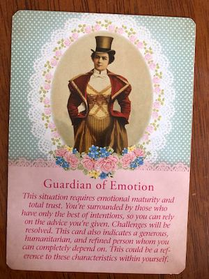 GUARDIAN OF EMOTION: Guardian Angel Tarot by Radleigh Valentine (and Doreen Virtue)