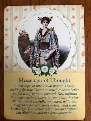 MESSENGER OF THOUGHT: Guardian Angel Tarot by Radleigh Valentine (and Doreen Virtue)