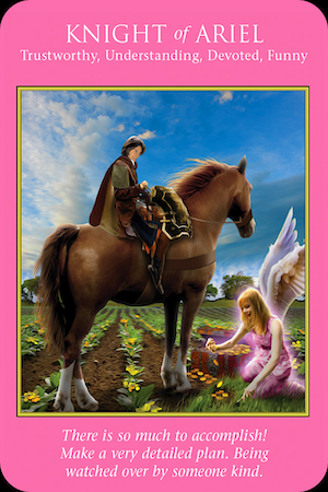 KNIGHT OF ARIEL: Archangel Power Tarot