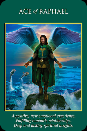 ACE OF RAPHAEL: Archangel Power Tarot