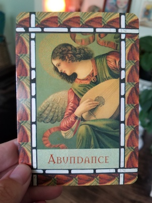 ABUNDANCE: Healing with the Angels Oracle - Doreen Virtue