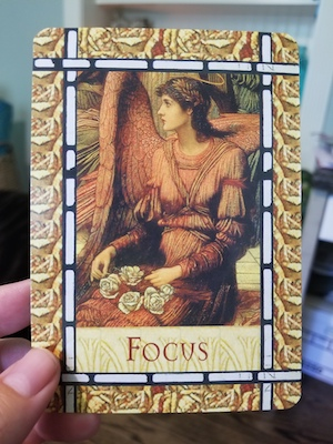 FOCUS: Healing with the Angels Oracle - Doreen Virtue