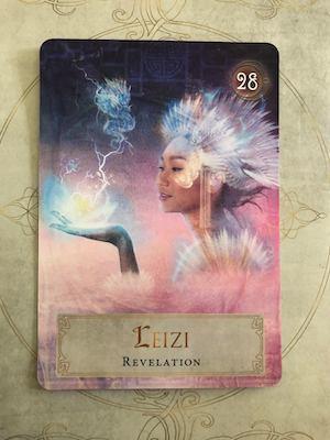 LEIZI - Revelation: Goddess Power Oracle by Colette Baron-Reid