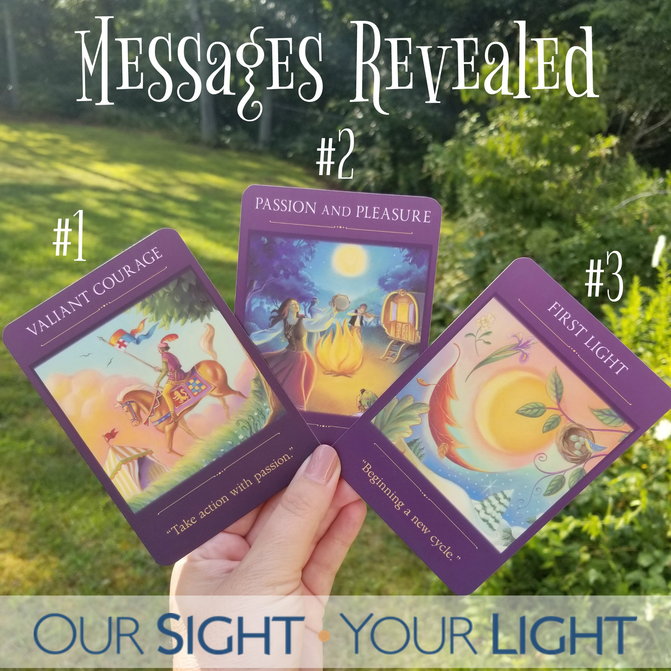 Oracle Monday MESSAGES REVEALED, Sacred Traveler Oracle, Denise Linn