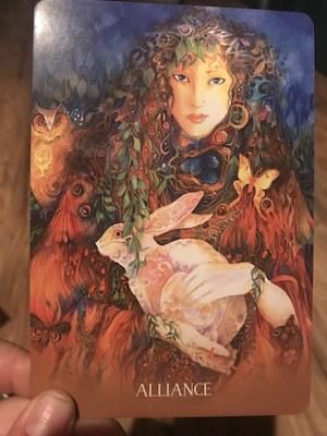 ALLIANCE: Sacred Earth Oracle by Toni Carmine Salerno & Leela J. Williams