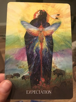 EXPECTATION: Sacred Earth Oracle by Toni Carmine Salerno & Leela J. Williams