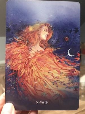 SPACE Sacred Earth Oracle by Toni Carmine Salerno & Leela J. Williams