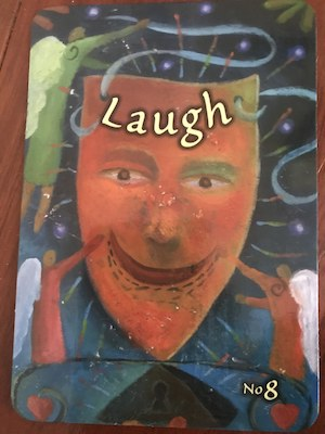 LAUGH: Trust Your Vibes Oracle by Sonia Choquette
