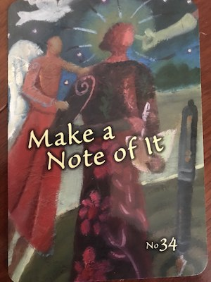 MAKE A NOTE OF IT: Trust Your Vibes Oracle by Sonia Choquette