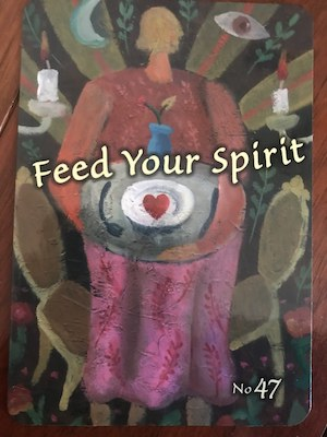 FEED YOUR SPIRIT: Trust Your Vibes Oracle by Sonia Choquette