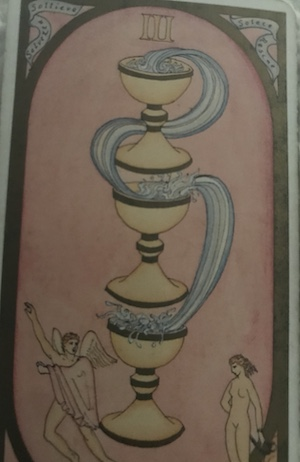 THREE OF CUPS: Renaissance Tarot by Brian Williams