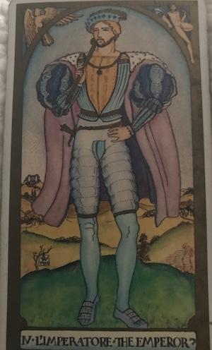 THE EMPEROR: Renaissance Tarot by Brian Williams