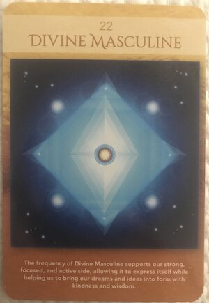 DIVINE MASCULINE: Sacred Geometry Activations Oracle by LON