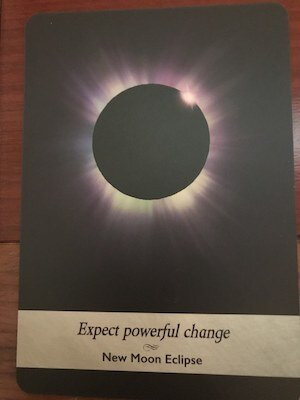 NEW MOON ECLIPSE: Moonology Oracle by Yasmin Boland