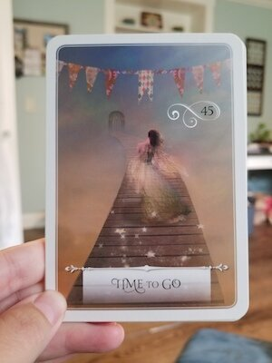 TIME TO GO: Wisdom of the Oracle by Colette Baron-Reid