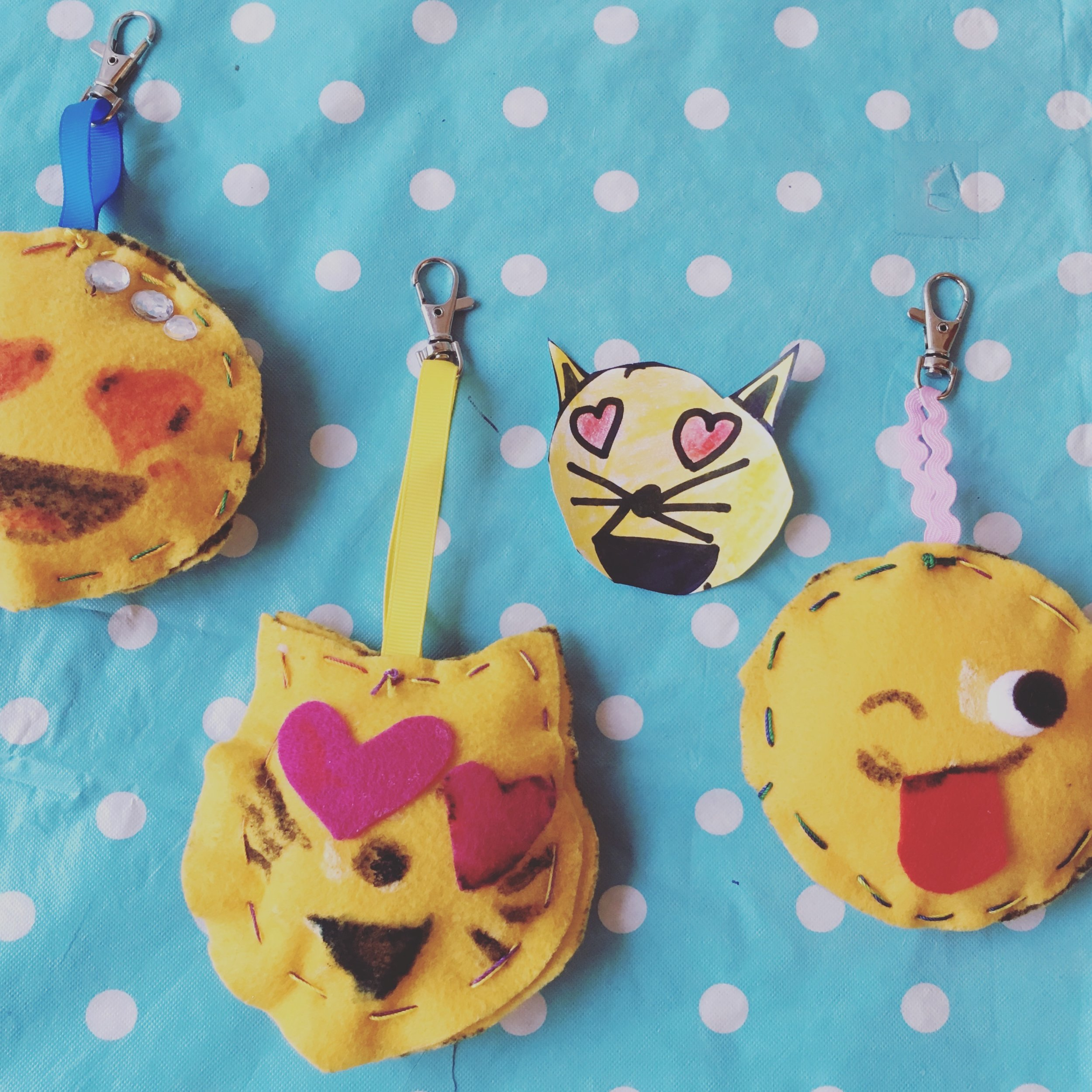 Charmed I'm Sure- Emoji! - ages 7 and up - Similar to our original Charmed I'm Sure project but with a dash of Emoji! Kids will learn the basics of hand sewing and pattern making to create an adorable, one of a kind charm.
