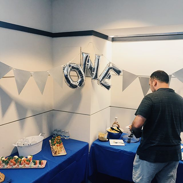 We had a great turnout at our one year anniversary party today! Thanks to everyone who came over to help us celebrate! Here's a few photos from the event #studiocowork