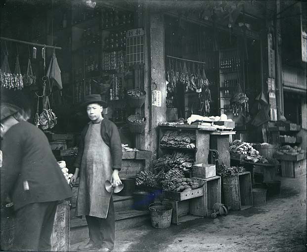 Chinatown, San Francisco, California, ca 1895 From the  Wilhelm Hester Photographs Collection