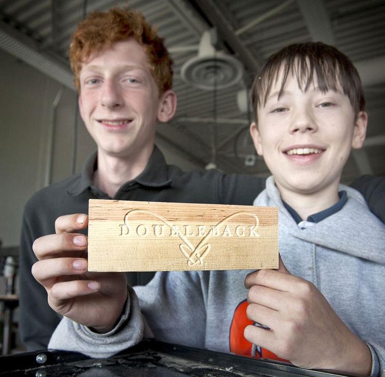 Daniel Wuest and Garrett Green of CNC Crates - Photo Credit Greg Lehman