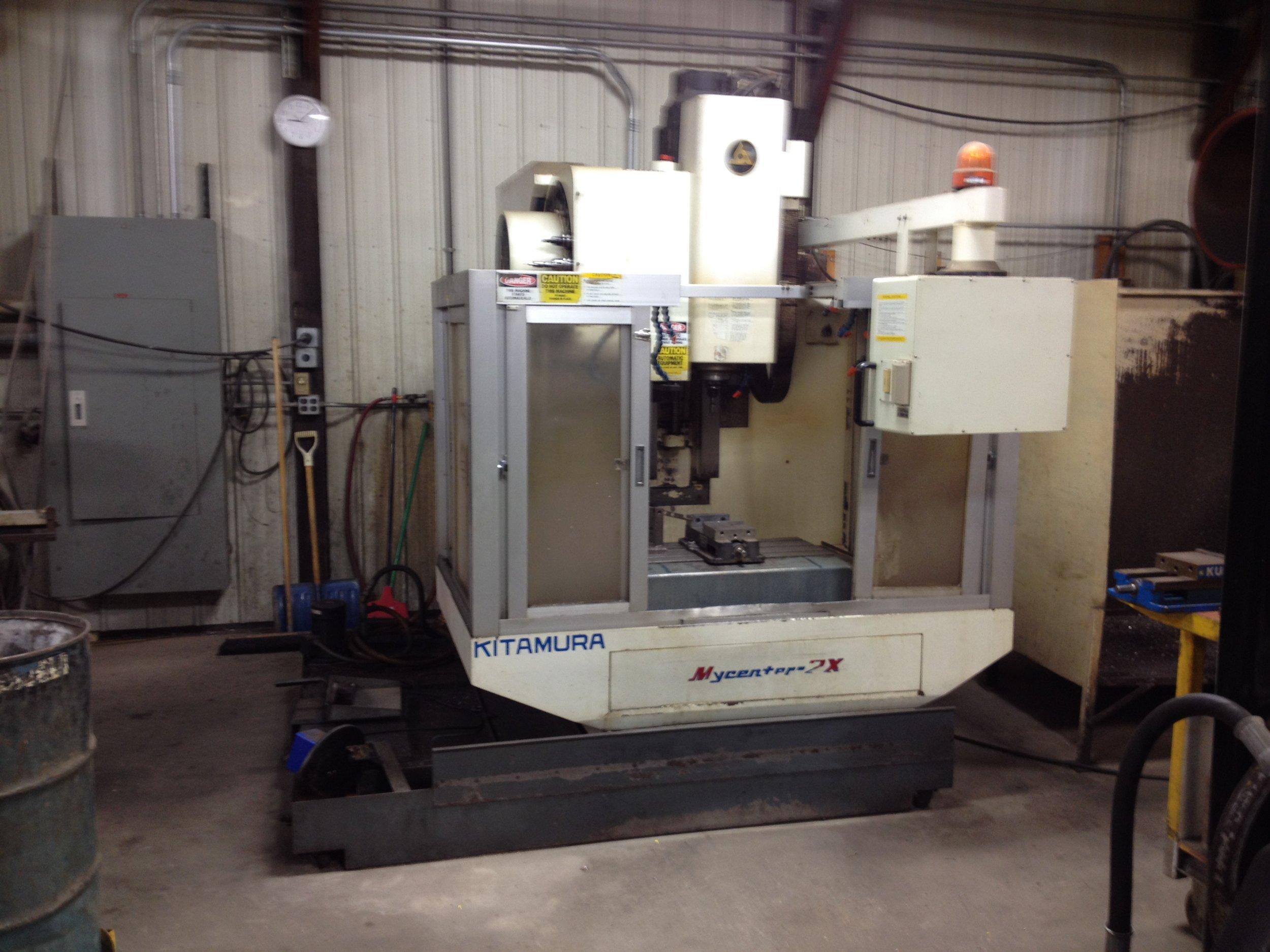 Kitamura Mycenter 2X  4 Stage Machine Vertical Machining Center Working Area 30 x 18 x 18.1″
