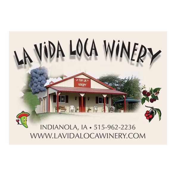 la vida loca winery indianola, iowa