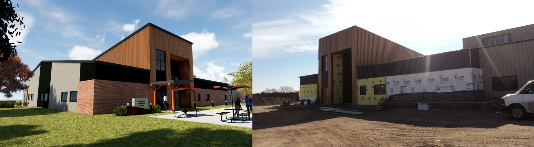 Cowley College Sumner Campus - This project utilized CMAR in order to complete the project as quickly as possible.