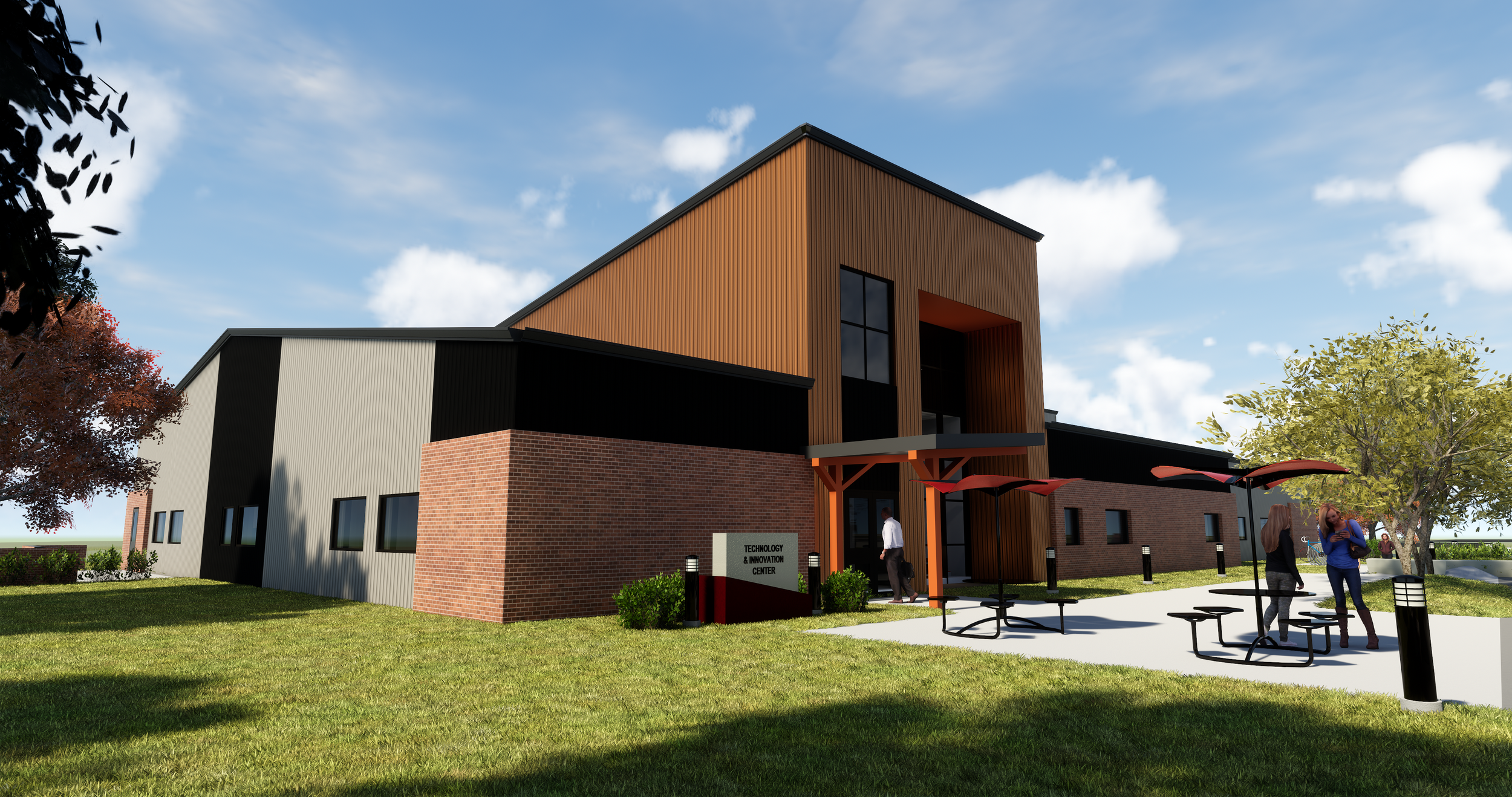 Cowley College Sumner Campus rendering of the final result.